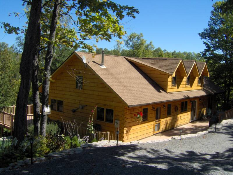 Photo gallery for 2x6 log siding